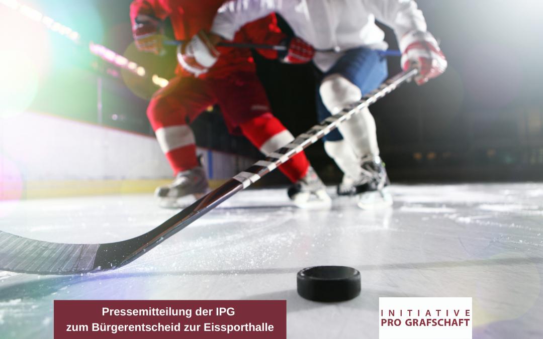 Pressemitteilung der IPG zum Bürgerentscheid zur Eissporthalle