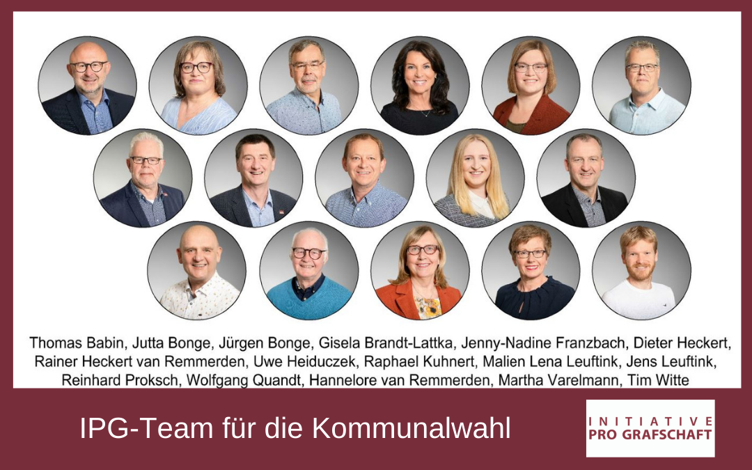 IPG-Team für die Kommunalwahl